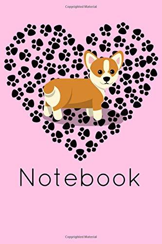 Notebook: Welsh Corgi Homework Book Notepad Notebook Composition and Journal Diary por Retrosun Designs