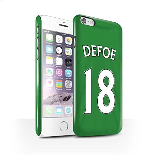 Offiziell Sunderland AFC Hülle / Glanz Snap-On Case für Apple iPhone 6S / Pack 24pcs Muster / SAFC Trikot Away 15/16 Kollektion Defoe