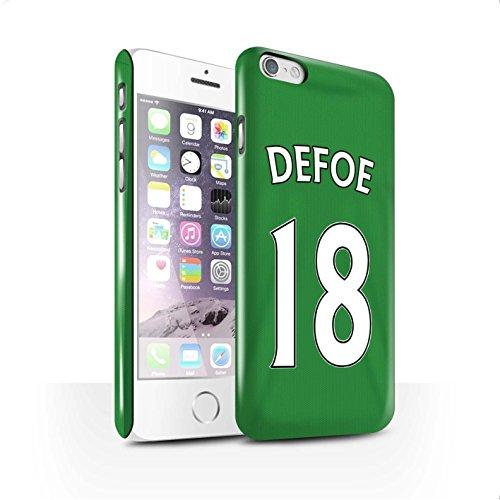 Officiel Sunderland AFC Coque / Clipser Brillant Etui pour Apple iPhone 6 / Pack 24pcs Design / SAFC Maillot Extérieur 15/16 Collection Defoe