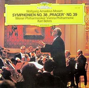 "Mozart: Symphonien No. 38 ""Prager"" & No. 39 [Vinyl LP] [Schallplatte]"