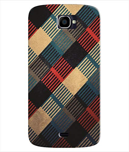 Inktree® Printed Designer Silicon Back Case Cover for Xolo Q1000 Opus - Leather Pattern Design