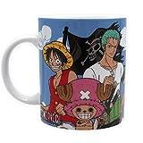 One Piece - Keramik Tasse - Strohhut Piratenbande & Logo - Geschenkbox