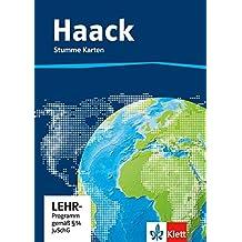 Der Haack Weltatlas. Stumme Karten. Kopiervorlagen auf CD-ROM