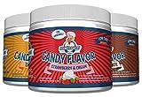 Frankys Bakery Candy Flavor Kalorienfrei Aroma Lebensmittelaroma Amerikanischen Geschmack 200g Diät (Butter Popcorn)