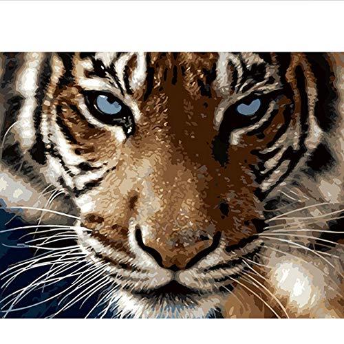 Waofe Diy Gerahmte Malerei By Zahlen Ölfarbe Fotowand Kunst Digitale Bilder Malerei Decor Für Hauptdekoration Geschenke E606
