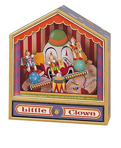 Trousselier - Boîte à musique - Dancing 3 Clowns balançoire