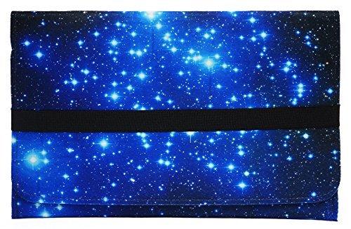 Meffort Inc 13 13.3 inch Felt Ultrabook Sleeve Laptop Carrying Bag for Apple Macbook Air, Pro & Similar Size Notebook - Galaxy Stars