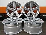 4 Alufelgen DEZENT TB 17 Zoll passend für BMW 1er F20 E87 2er F22 3er E36 E46 F30 4er X3 XZZ3 NEU