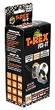 T-Rex Fix-It Glasfaser Reparatur-Set zum schnellen Abdichten und Reparieren von Bruchstellen 50mm x 1.25m