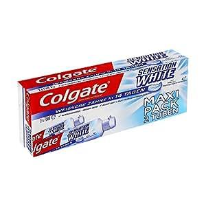Dentifrice Colgate Sensation White Cristaux - 2 x 75 ml