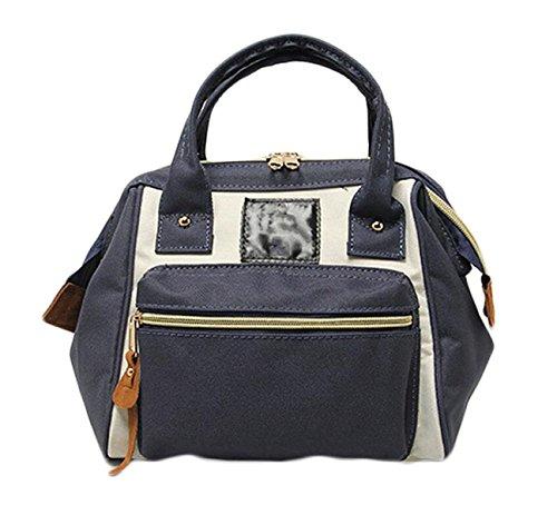 Ms. Messenger Bag Sacchetto Di Svago Oxford Stoffa Tre Bocca Grande Con Un Sacchetto Di Borsa Da Viaggio Di Piacere Rampa Zaino Portatile Grey