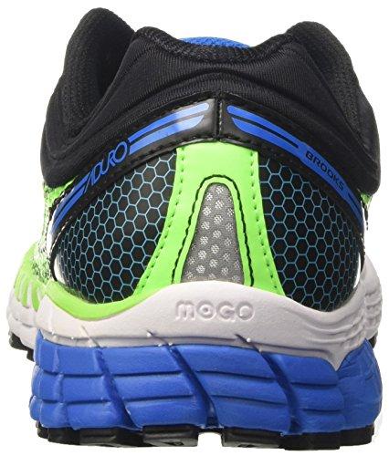 Brooks Aduro 4, Scarpe da Corsa Uomo Verde (Green Geko/Black/Directoire Blue)