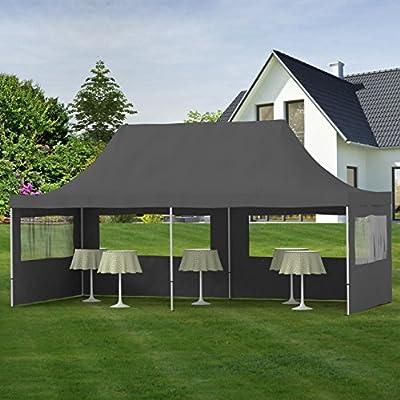 Gartenpavillon TENT06 Aluminium Faltpavillon 3 x 6 m in verschiedenen Farben von PRIMOPET bei Gartenmöbel von Du und Dein Garten