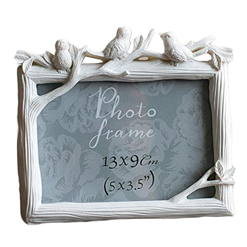 Resin Frames / Creative Photo / Album Frame / Kinderbilderrahmen-Weiß