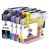 Palmtree Compatible Brother LC123 Ink Cartridges for Brother MFC J6520DWJ6720DWDCP-J132 WJ152 WJ172 W for DCP-J4110DW MFC-J4410DW MFC-J4510DW MFC-J4610DW MFC-J470DW MFC-J4710DW J552DWJ650DW DCP-J752DW