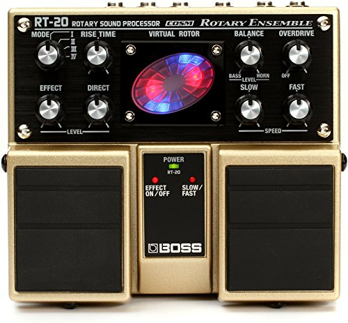 Pedal multiefectos Boss RT-20 Rotary Ensemble Roland