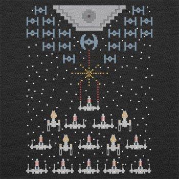 TEXLAB - Pixel Wars - Herren T-Shirt Schwarz