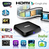 YUNTAB M8S TV Box 4K TV Box Android 4.4 Quad
