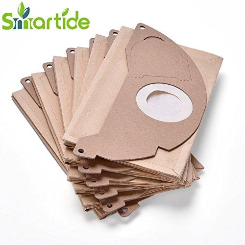 10x Staubsaugerbeutel Papier für Kärcher WD 2200 Kärcher 6.904-322.0