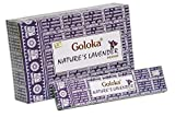 Goloka Natures Nest Incense Räucherstäbchen,15g - lavendel - 12