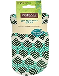EcoTools, Sustainable Moisture Socks, One Size Fits Most, 1 Pair