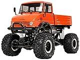 TAMIYA 300058414 - MB Unimog 406 Serie U900 CR2, ferngesteuertes Offroad Fahrzeug, 1:10, Elektromotor, Bausatz