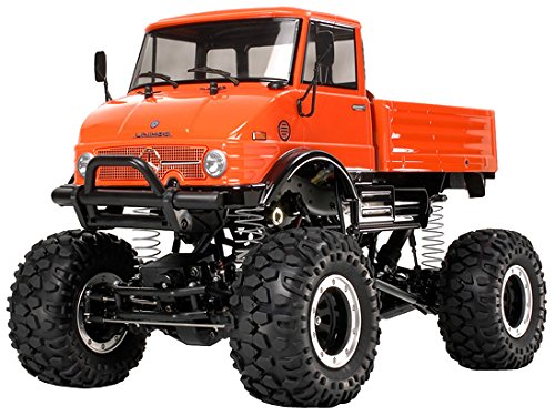 Tamiya Mercedes-Benz Unimog 406 - Radio-Controlled (RC) Land Vehicles (Cochecito de Juguete)