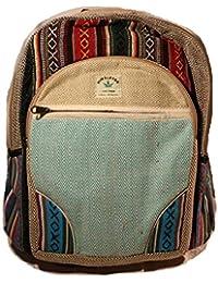 HIMALAYAN Mochila de fibra de cáñamo/ Mochila de cáñamo / mochila de día de cáñamo / mochila para la escuela,…