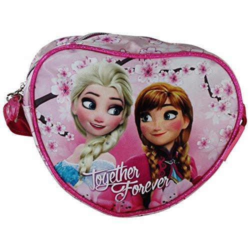 Disney Frozen Blossom Borsa Borsetta da Bambina Tracolla Asilo Scuola Cuore