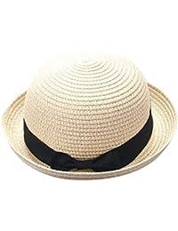Madre Y Yo Bebé Bowknot Niños Sombrero Transpirable Sombrero De Paja  Sombrero De Niños Sombrero De Niñas AIMEE7 Sombrero De Sol… 5b14f920118