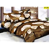 Comforter For DoubleBed - Double Bed Luxurious Comforter Set, 1 Comforter + 1 Double Bedsheet + 2 Pillow Cover (4 Pc Set)