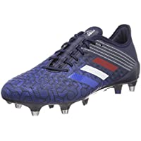 adidas Predator Malice Control (SG), Chaussures de Rugby Homme, Noir, UK