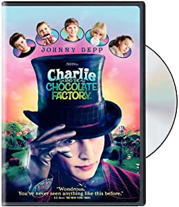 Charlie & The Chocolate Factory [DVD] [2005] [Region 1] [US Import] [NTSC]