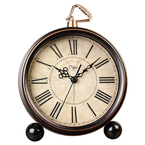 XUADE Relojes de Escritorio silenciosos de 5.5