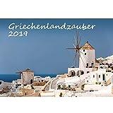 Griechenlandzauber · DIN A3 · Premium Kalender 2019 · Griechenland · Athen · Kreta · Mykonos · Urlaub · Meer · Edition Seelenzauber -