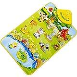 Ac.y.c Musical Musik Kind Spielen Bauernhof Baby Matte Tier Pädagogische Weich Kick Spielzeug Geschenk