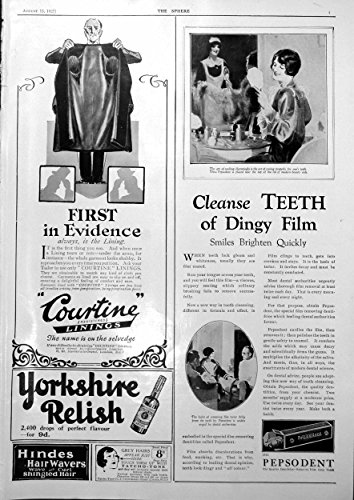 old-original-antique-victorian-print-courtine-coat-lining-pepsodent-adverts-miniature-bugatti-1927-6