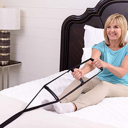 Bed Ladder Assist - Senior Pull Up Assist Gerät Mit Tragegriff - Rope Ladder Caddy Helper - Sitzen, Sit Up Hoist Für Ältere Menschen