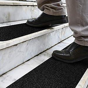 DanceWhale 5cm x 30cm rutschfest Stufenmatten 10er Pack Antirutschstreifen Treppe Set Anti Rutsch Selbstklebende…