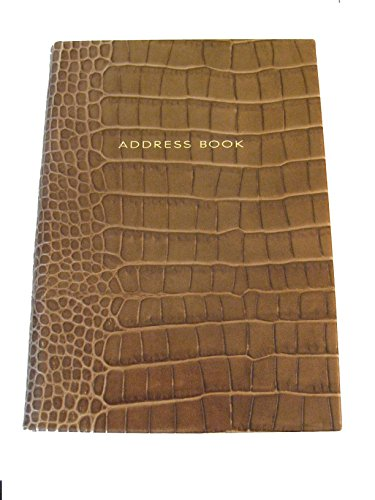 smythson-of-bond-street-address-book-hardbound-brown-faux-crocodile-leather