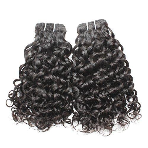 Bella Hair Grade 6A Cheveux Tissage Vierges Remy Brésilien Eau Vague Tissage Cheveux Tissage 1 Faisceaux 16\