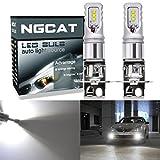 ngcat extrem helle 2850Lumen CSP Chips H3Philips LED Leuchtmittel verwendet für Automarke DRL TFL Tagfahrlicht 12V-24V, Xenon Weiss