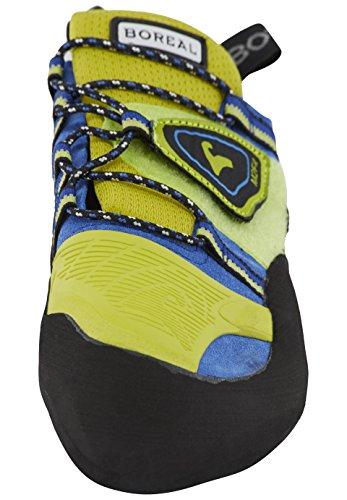 BOREAL femme kletterschuhe pour homme negro/amarillo/azul/verde