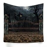 xkjymx Hängetuch Dekotuch Halloween Druckteppich Bild 13 200X150cm