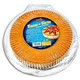 Base para hacer tarta sabor natural Mels 3 unidades 400gr