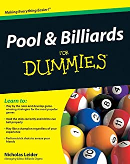 Pool and Billiards For Dummies by [Leider, Nicholas]
