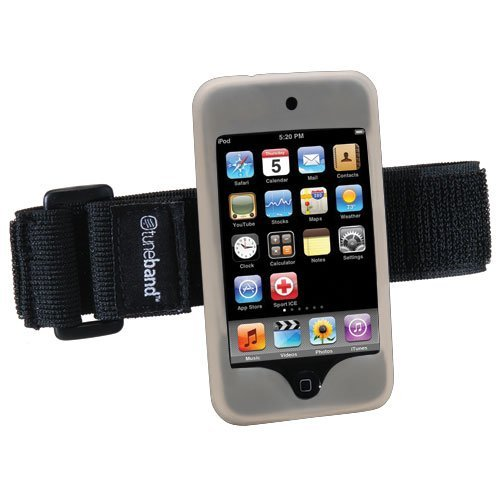 Tuneband Grantwood Technology Armband für iPod Touch 8 GB / 16 GB / 32 GB / 64 GB (2. und 3. Generation), transparent