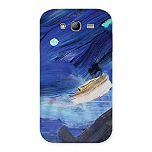Blue Paint Work Print Back Case Cover for Galaxy Grand Neo