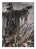 Carl McCoy - Fields Of The Nephilim Signiert Autogramme 21cm x 29.7cm Plakat Foto