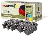 Toner Experte 5 Premium Toner Kompatibel für Dell 1250c, 1350cn, 1350cnw, 1355cn, 1355cnw, C1760nw, C1765nf, C1765nfw, C17XX